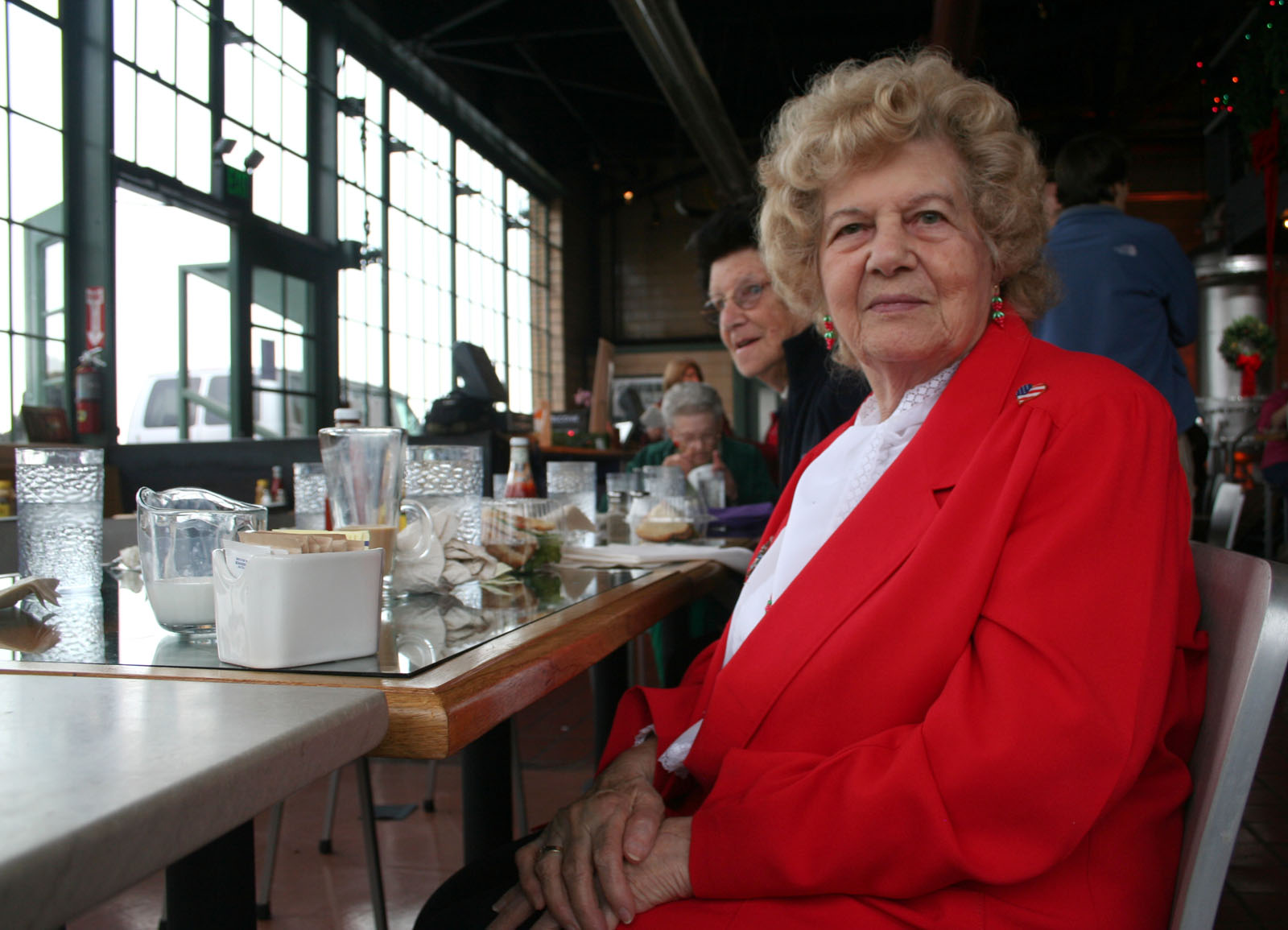 Priscilla Elder of Pinole was an electrician at the Kaiser Shipyards during World War II. (Photo by Ryan Phillips)