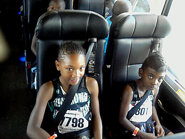 richmond half steppers on bus going to new orleans