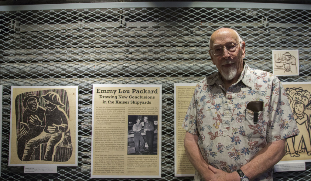Emmy Lou Packard exhibit