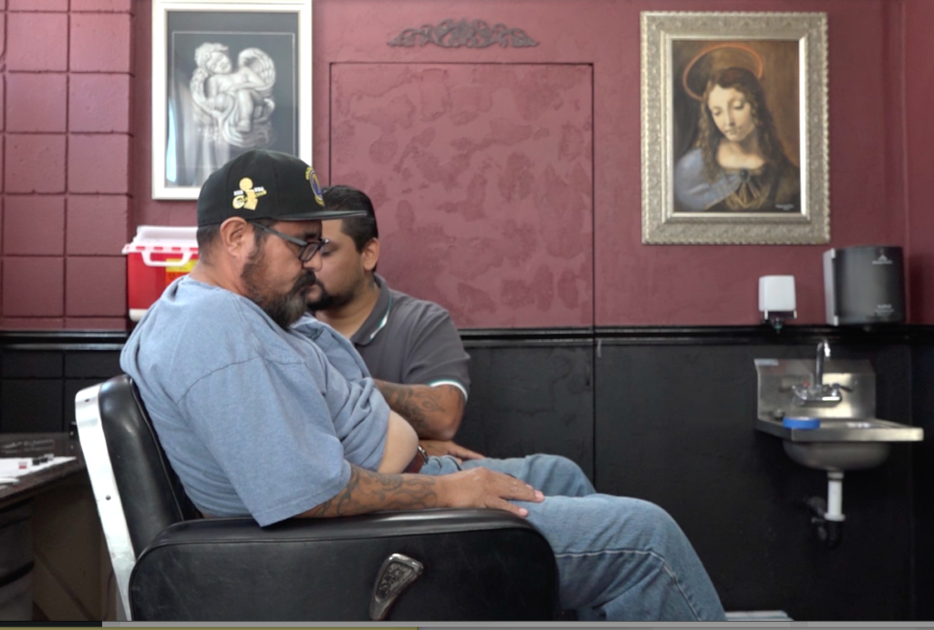 Twelve years after leaving school, tattoo artist Juan Nuñez is taking psychology classes so he will be better prepared when customers confide in him.